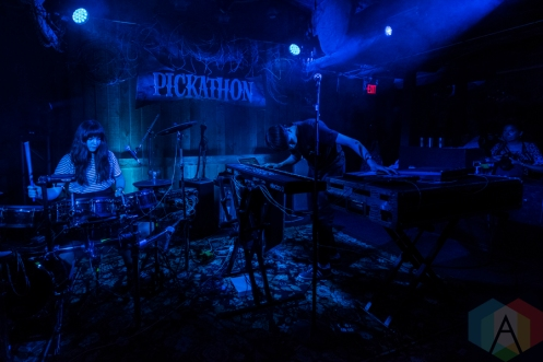 Tennyson performing at Pickathon 2016 in Happy Valley, Oregon on August 6, 2016. (Photo: Kevin Tosh/Aesthetic Magazine)