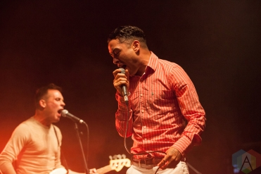 The King Blues performing at Leeds Festival on August 26, 2016. (Photo: Priti Shikotra/Aesthetic Magazine)