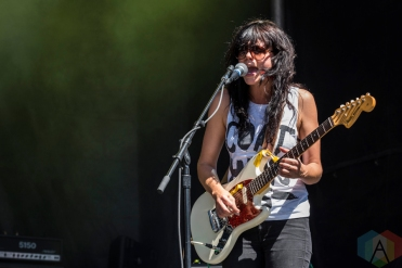The Coathangers performing at Project Pabst Portland on August 27, 2016. (Photo: Kevin Tosh/Aesthetic Magazine)