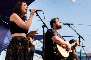 The Oh Hellos performing at Pickathon 2016 in Happy Valley, Oregon on August 5, 2016. (Photo: Kevin Tosh/Aesthetic Magazine)