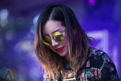 Tokimonsta performing at Time Festival in Toronto on August 6, 2016. (Photo: Brandon Newfield/Aesthetic Magazine)