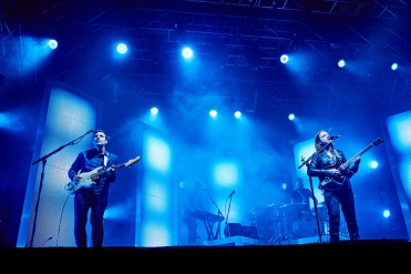 Two Door Cinema Club performing at Leeds Festival on August 28, 2016. (Photo: Will Hartley)