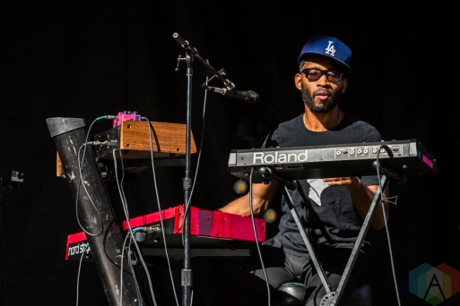 Unknown Mortal Orchestra performing at Project Pabst Portland on August 28, 2016. (Photo: Kevin Tosh/Aesthetic Magazine)