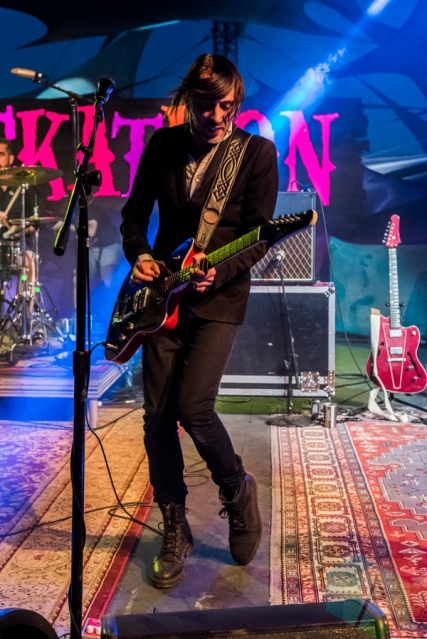 Wolf Parade performing at Pickathon 2016 in Happy Valley, Oregon on August 5, 2016. (Photo: Kevin Tosh/Aesthetic Magazine)