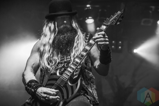 Zakk Wylde performing at the Phoenix Concert Theatre in Toronto on August 8, 2016. (Photo: Brendan Albert/Aesthetic Magazine)