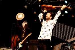 The Trews performing at Supercrawl in Hamilton on September 9, 2016. (Photo: Philip C. Perron/Aesthetic Magazine)