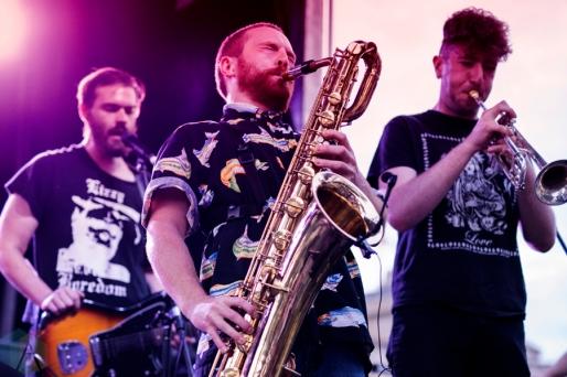 WTCHS performing at Supercrawl in Hamilton on September 9, 2016. (Photo: Philip C. Perron/Aesthetic Magazine)