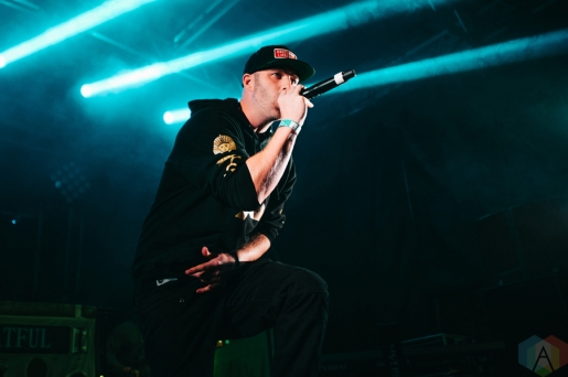 Classified performing at the Rifflandia Music Festival in Victoria, British Columbia on September 17, 2016. (Photo: Timothy Nguyen/Aesthetic Magazine)