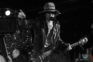 Guitar Wolf performing at the Horseshoe Tavern in Toronto on September 6, 2016 (Photo: Jaime Espinoza/Aesthetic Magazine)
