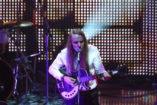Andy Shauf performs at the Polaris Music Prize gala at the Carlu in Toronto on September 19, 2016. (Photo: Jaime Espinoza/Aesthetic Magazine)