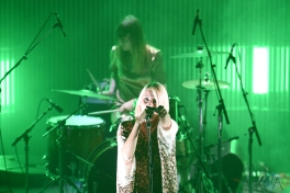 White Lung performs at the Polaris Music Prize gala at the Carlu in Toronto on September 19, 2016. (Photo: Jaime Espinoza/Aesthetic Magazine)