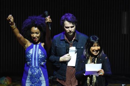 Kaytranada attends the Polaris Music Prize gala at the Carlu in Toronto on September 19, 2016. (Photo: Jaime Espinoza/Aesthetic Magazine)