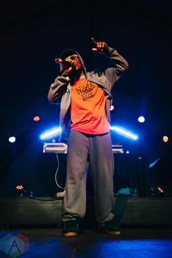 Del The Funky Homosapien performing at the Rifflandia Music Festival in Victoria, British Columbia on September 18, 2016. (Photo: Timothy Nguyen/Aesthetic Magazine)