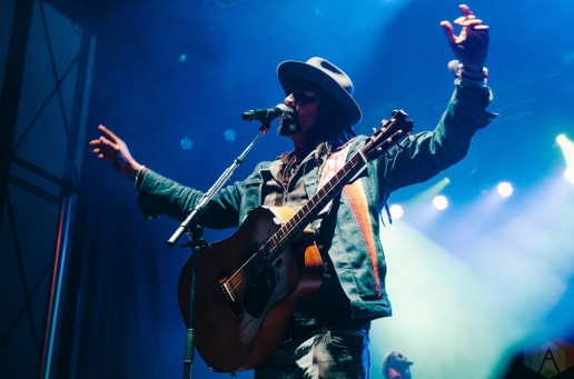 Michael Franti and Spearhead performing at the Rifflandia Music Festival in Victoria, British Columbia on September 16, 2016. (Photo: Timothy Nguyen/Aesthetic Magazine)