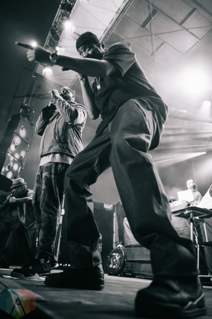 Jurassic 5 performing at the Rifflandia Music Festival in Victoria, British Columbia on September 17, 2016. (Photo: Timothy Nguyen/Aesthetic Magazine)