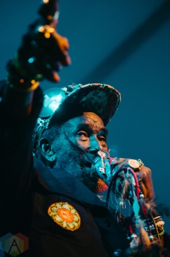 Lee Scratch Perry performing at the Rifflandia Music Festival in Victoria, British Columbia on September 16, 2016. (Photo: Timothy Nguyen/Aesthetic Magazine)
