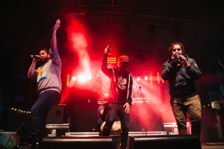 Illvis Freshly performing at the Rifflandia Music Festival in Victoria, British Columbia on September 15, 2016. (Photo: Timothy Nguyen/Aesthetic Magazine)