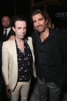 "Actors Noah Taylor and Sharlto Copley (R) attend the ""Free Fire"" premiere screening party hosted by Bulleit at Early Mercy during TIFF 2016 on September 8, 2016 in Toronto, Canada. (Photo: Todd Williamson/Getty)"
