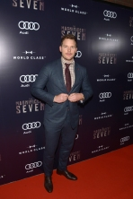"""Actor Chris Pratt attends """"The Magnificent Seven"""" premiere screening party at Storys Building in Toronto, Canada on September 8, 2016 during TIFF 2016. (Photo: Matt Winkelmeyer/Getty)"""