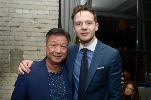 """Actors Tzi Ma and Mark O'Brien attend the """"Arrival"""" premiere screening party at Storys Building on September 12, 2016 in Toronto, Canada during TIFF 2016. (Photo: Matt Winkelmeyer)"""