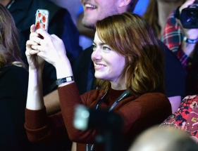 Actress Emma Stone attends at the 2016 Global Citizen Festival in Central Park in New York City on September 24, 2016. (Photo: Kevin Mazur/Getty)
