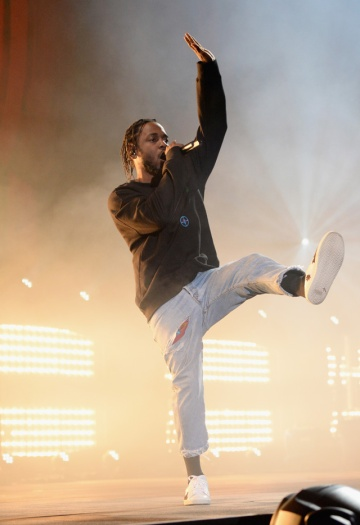 Rapper Kendrick Lamar performs at the 2016 Global Citizen Festival in Central Park in New York City on September 24, 2016. (Photo: Kevin Mazur/Getty)