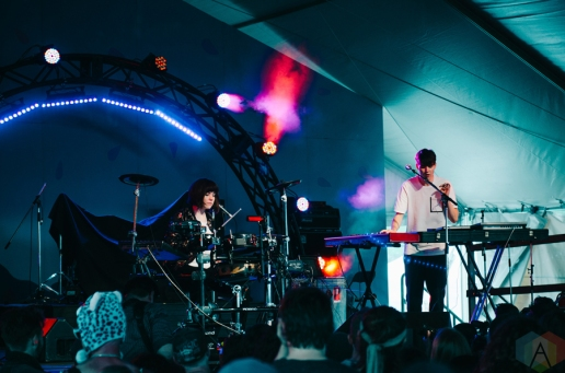 Tennyson performing at the Rifflandia Music Festival in Victoria, British Columbia on September 17, 2016. (Photo: Timothy Nguyen/Aesthetic Magazine)