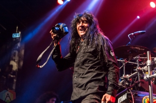 Anthrax performing at the Sound Academy in Toronto on September 12, 2016. (Photo: Dale Benvenuto/Aesthetic Magazine)