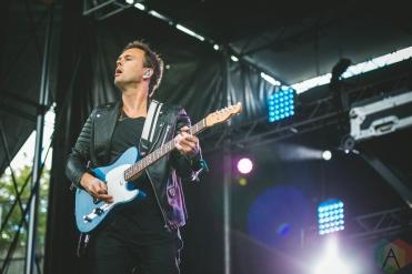 Atlas Genius performing at the Bumbershoot Music Festival in Seattle on September 2, 2016. (Photo: Daniel Hager/Aesthetic Magazine)