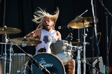 Chevy Metal performing at Riot Fest Chicago on September 18, 2016. (Photo: Katie Kuropas/Aesthetic Magazine)