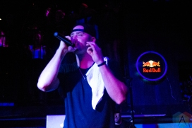 Classified performing at the Bourbon Room in Ottawa on September 6, 2016 (Photo: Lucy Sky/Aesthetic Magazine)
