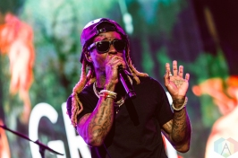 Collegrove (Lil Wayne and 2 Chainz) performing at the Made In America Festival at the Benjamin Franklin Parkway in Philadelphia, Pennsylvania on September 3, 2016. (Photo: Saidy Lopez/Aesthetic Magazine)