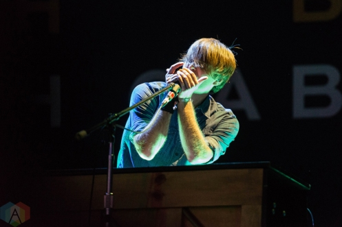 Death Cab For Cutie performing at Riot Fest Chicago on September 17, 2016. (Photo: Katie Kuropas/Aesthetic Magazine)