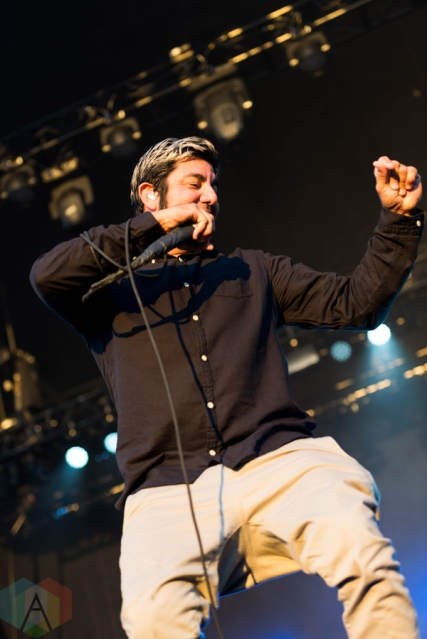 Deftones performing at Riot Fest Chicago on September 18, 2016. (Photo: Katie Kuropas/Aesthetic Magazine)