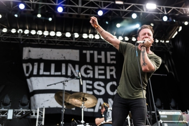 The Dillinger Escape Plan performing at Riot Fest Chicago on September 16, 2016. (Photo: Katie Kuropas/Aesthetic Magazine)