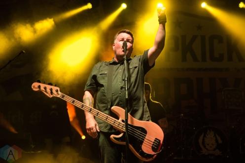 Dropkick Murphys performing at the Toronto Urban Roots Festival in Toronto on September 16, 2016. (Photo: Morgan Hotston/Aesthetic Magazine)