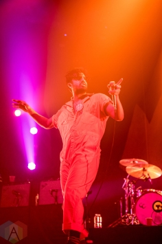 Young The Giant performs at Sound Academy in Toronto on September 21, 2016. (Photo: Janine Van Oostrom/Aesthetic Magazine)