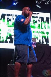 Meyhem Lauren performing at the Sound Academy in Toronto on September 8, 2016. (Photo: Jason Hodgins/Aesthetic Magazine)