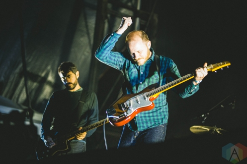 Explosions In The Sky performing at the Bumbershoot Music Festival in Seattle on September 3, 2016. (Photo: Daniel Hager/Aesthetic Magazine)