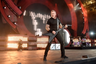 James Hetfield of Metallica performs at the 2016 Global Citizen Festival in Central Park in New York City on September 24, 2016. (Photo: Kevin Mazur/Getty)