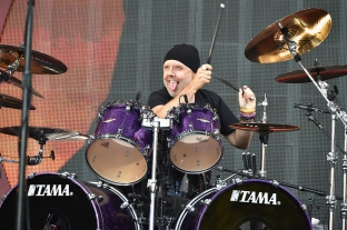 Lars Ulrich of Metallica performs at the 2016 Global Citizen Festival in Central Park in New York City on September 24, 2016. (Photo: Theo Wargo/Getty)