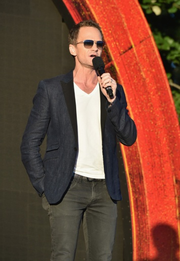 NEW YORK, NY - SEPTEMBER 24: Actor Neil Patrick Harris speaks at the 2016 Global Citizen Festival In Central Park To End Extreme Poverty By 2030 at Central Park on September 24, 2016 in New York City. (Photo by Theo Wargo/Getty Images for Global Citizen)