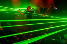 Ghostland Observatory performs at the Crocodile in Seattle on September 24, 2016. (Photo: Kevin Tosh/Aesthetic Magazine)