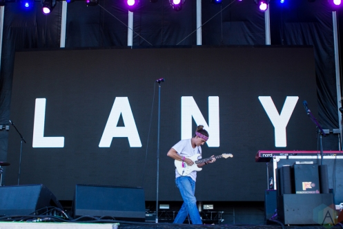 Lany performs at the Life Is Beautiful Music Festival in Las Vegas on September 25, 2016. (Photo: Meghan Lee/Aesthetic Magazine)