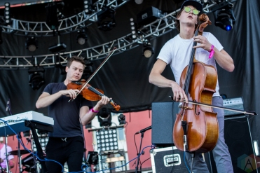 Hey Marseilles performs at the Life Is Beautiful Music Festival in Las Vegas on September 25, 2016. (Photo: Meghan Lee/Aesthetic Magazine)
