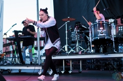 Bishop Briggs performs at the Life Is Beautiful Music Festival in Las Vegas on September 25, 2016. (Photo: Meghan Lee/Aesthetic Magazine)