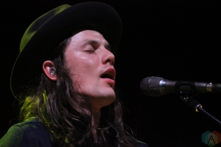 James Bay performing at the Toronto Urban Roots Festival in Toronto on September 16, 2016. (Photo: Curtis Sindrey/Aesthetic Magazine)
