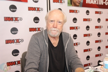 Scott Wilson (The Walking Dead) at Fan Expo 2016 in Toronto. (Photo: Stephan Ordonez/Aesthetic Magazine)