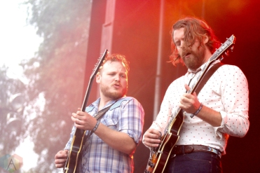 The Sheepdogs performing at the Toronto Urban Roots Festival in Toronto on September 17, 2016. (Photo: Curtis Sindrey/Aesthetic Magazine)