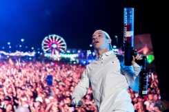 Major Lazer performs at the Life Is Beautiful Music Festival in Las Vegas on September 25, 2016. (Photo: Meghan Lee/Aesthetic Magazine)